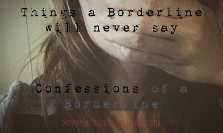 A Poem of a Borderline's Confession